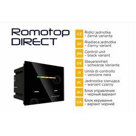 Romotop AUTOMATICKÁ REGULACE ROMOTOP DIRECT