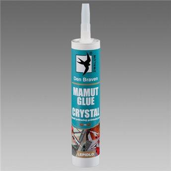 Lepidlo MAMUT GLUE CRYSTAL (04.38) kartuše 290 ml Transparentní