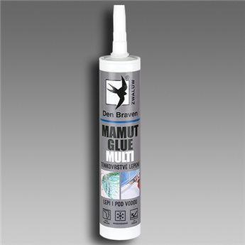 Lepidlo MAMUT GLUE MULTI (04.36) kartuše 290 ml