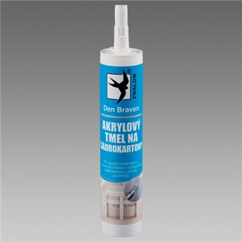 Akrylový tmel na sádrokartony (03.12) kartuše 310 ml