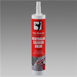 Neutrální silikon OXIM (04.99) kartuše 310 ml bílá