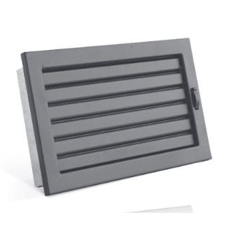 STYLE s uzavíratelnou žaluzií 200 x 145 mm černá