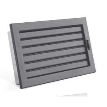 STYLE s uzavíratelnou žaluzií 190 x 170 mm černá
