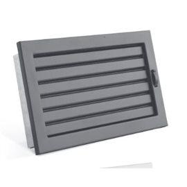 STYLE s uzavíratelnou žaluzií 450 x 220 mm černá