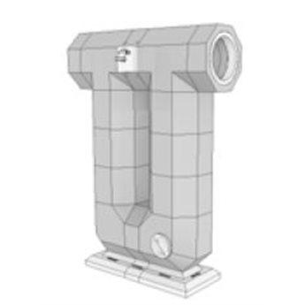 Ortner Akumulační výměník s roztápěcí klapkou KMS 240