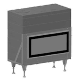 Ortner Ohniště GO18 - 91/42 ruční ovládání
