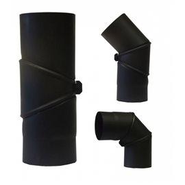Koleno 1,5 mm - otočné 90-180° - pr.130