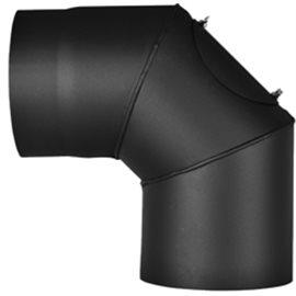 Koleno 1,5 mm - pevné s čistícím otvorem pr.120 (90°)