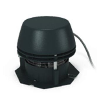 Komínový ventilátor RS s osmiúhelníkovou základnou - S horizontálním odtahem