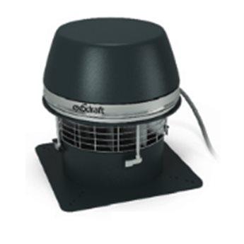 Komínový ventilátor RSHT - S horizontálním odtahem
