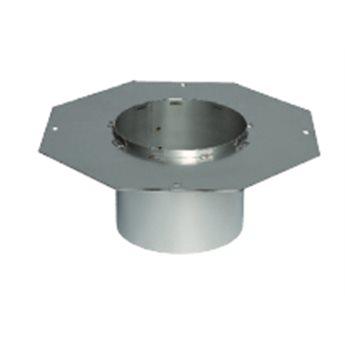 FR2-02- Osmiúhelníková příruba pro nerezové komíny