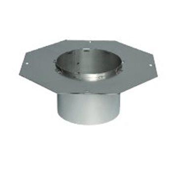 FR3-02- Osmiúhelníková příruba pro nerezové komíny