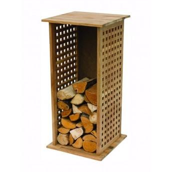 Regál na ukládání dřeva Mrano