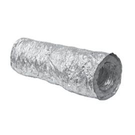 Ohebné hliníkové potrubí izolované délka 10 m průměr 100mm