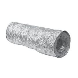 Ohebné hliníkové potrubí izolované délka 10 m průměr 125 mm