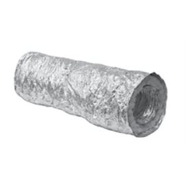 Ohebné hliníkové potrubí izolované délka 5 m průměr 100mm