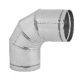 Koleno stavitelné 0–90° , průměr 100 mm