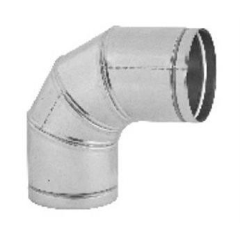 Koleno stavitelné 0–90° , průměr 125 mm