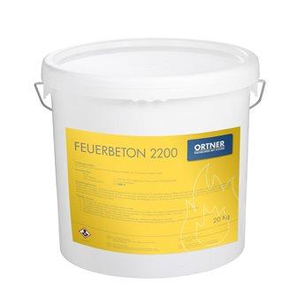 Žárobeton (Feuerbeton 2200) 20 kg