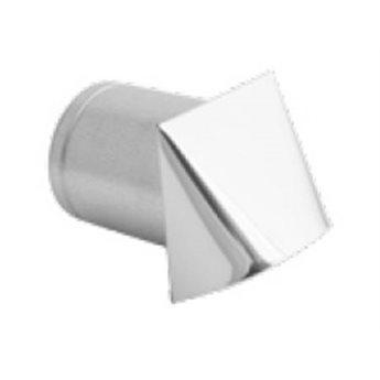 Mřížka pro přívod externího vzduchu – na fasádu 150 mm Bílá