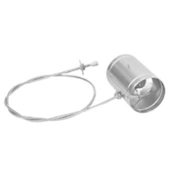 Ovládaná klapka - 125 mm
