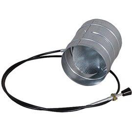 Ovládaná klapka se silikonovým těsněním - 150 mm