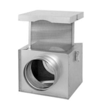 Izolovaná filtrační skříň - 125 mm