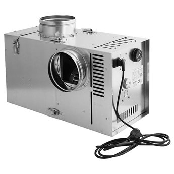 Teplovzdušný ventilátor s bypassem BANAN 3