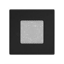 KRATKI ventilační krbová mřížka 11x11 černá