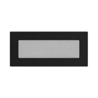 KRATKI ventilační krbová mřížka 11x24 černá