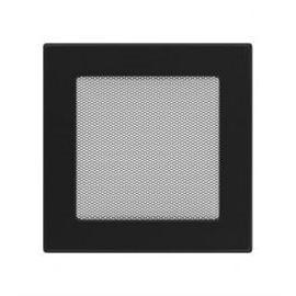 KRATKI ventilační krbová mřížka 17x17 černá