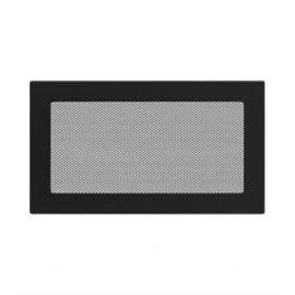 KRATKI ventilační krbová mřížka 17x30 černá