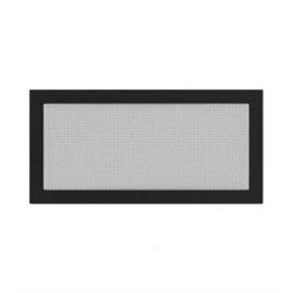 KRATKI ventilační krbová mřížka 22x45 černá