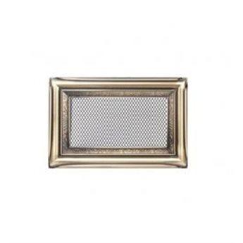KRATKI ventilační krbová mřížka 11x17 rustikální