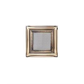 KRATKI ventilační krbová mřížka 17x17 rustikální