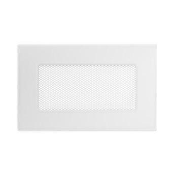 KRATKI ventilační krbová mřížka 11x17 bílá