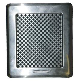 Mřížka KZ 2 - 195 x 175 mm žaluzie chrom