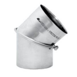 Kouřovod Koleno 45° regulované Ø180 mm (Karl)