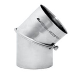 Kouřovod Koleno 45° regulované Ø200 mm (Karl)