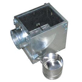 Filtrační skříň k ventilátoru 350 s klapkou