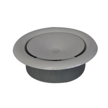 Talířový ventil Ø125 mm + zděř
