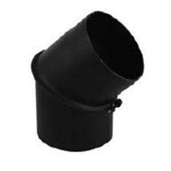 Kouřovod koleno 0 − 45° regulované Ø200 mm (Karl)