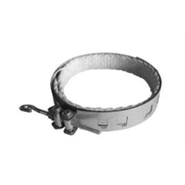Univerzální stahovací spona pro kouřovod průměr 120–200mm (Karl)