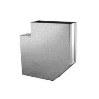 Koleno 90° – kanál (200 mm x 90 mm)