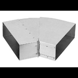 Nastavitelné koleno 25°–45° – kanál (150mm x 50 mm)