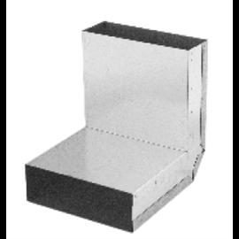 Koleno stěna-strop 90° – kanál (150 mm x 50 mm)