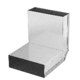 Koleno stěna-strop 90° – kanál (200 mm x 90 mm)