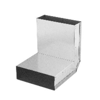 Koleno stěna-strop 90° – kanál (350 mm x 70 mm)