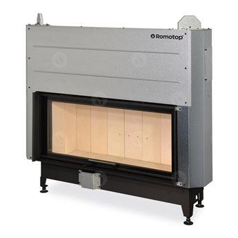 ROMOTOP Heat 3g L 110.50.01 - Teplovzdušná krbová vložka s výsuvnými dvířky