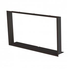 Zazdívací rámeček 1x90° hloubka 80mm, černý BeF Therm (V) 10, V 12, V 14